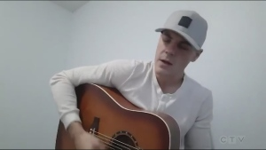 "Sudbury musician Junior Breault covers ""A Woman Like You"" by Johnny Reid."