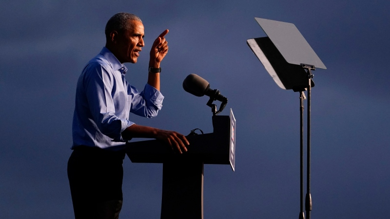 Watch Obama's full rally in Pennsylvania