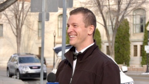 Following success in Saskatoon, Cst. Ryan Ehalt is helping Toronto Crime Stoppers with their social media. (Andrew Mareschal/CTV News)