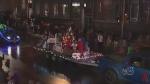 Reverse Santa Claus parade
