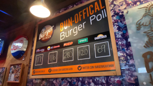 "Burger Haven in New Westminster, B.C. holds a ""burger poll"" every election to gauge the public's appetite for a new government."
