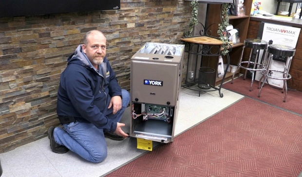 Some Sudbury heating services are seeing a significant rise in their business as many people prepare for a winter of working from home. (Dana Roberts/CTV News)