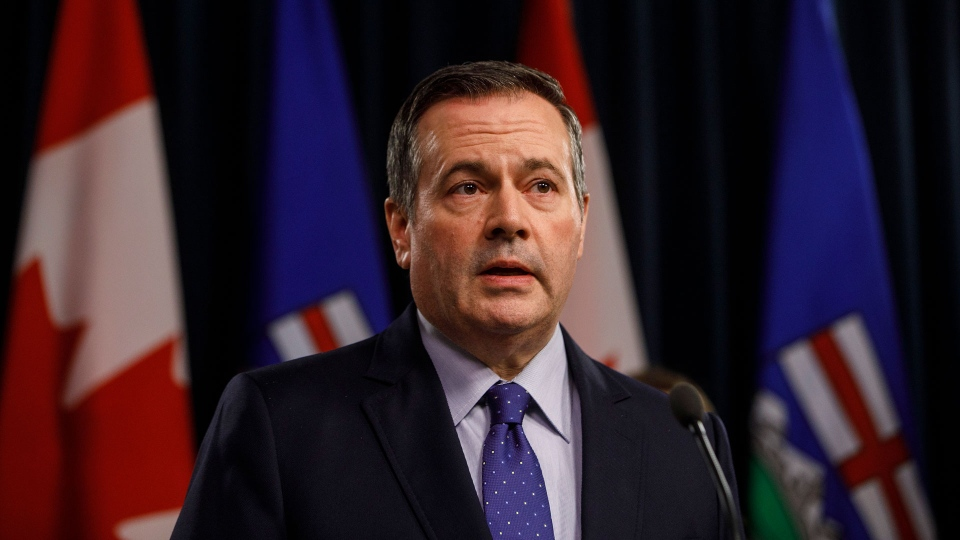 Alberta Premier Jason Kenney is calling on Trudeau to act against the U.S. amid the cancellation of the Keystone XL pipeline