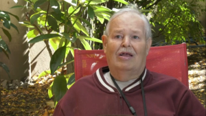 Ernie Humphries lives in assisted-living facility and expected the provincial election would come to him. (CTV)