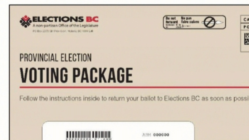 Advance voting for B.C. election closes