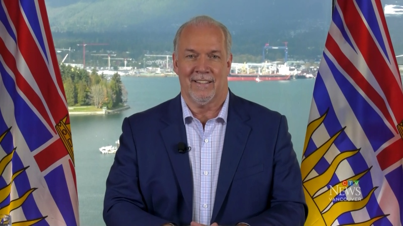 John Horgan sits down with CTV News