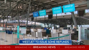 WestJet to issue some COVID-19 refunds