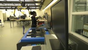 A lab in the University of Alberta. Oct. 21, 2020. (Jay Rosove/CTV News Edmonton)