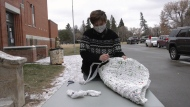 Creative way to help the homeless