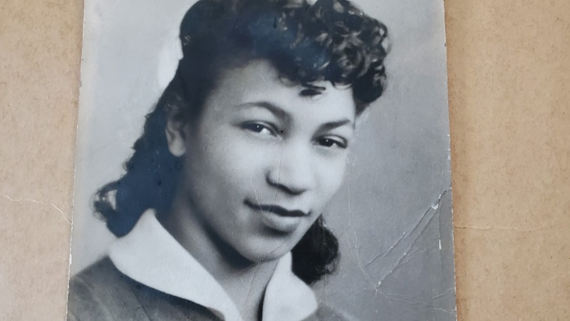 Mildred Madison, as seen in high school in 1944, has a long history of activism and politics. (Courtesy Mildred Madison Family Photos/CNN)