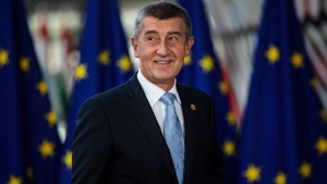 Czech Prime Minister Andrej Babis addresses the country's coronavirus response in a news conference on October 21, 2020, in Prague, Czech Republic.(Jack Taylor/Getty Images)