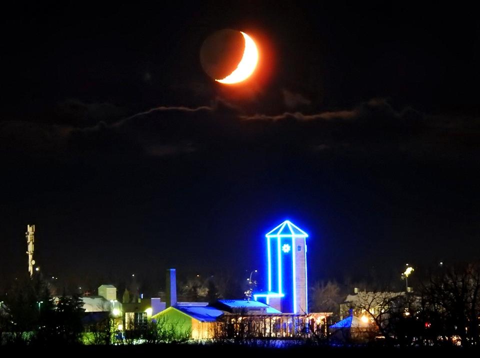moonset, Calgary, South Calgary, Roy