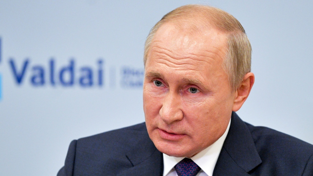 Russia China Military Alliance Can T Be Ruled Out Putin Ctv News