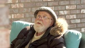 Art Shepherd speaks to CTV News outside of his retirement residence. (Laura Woodward/CTV Saskatoon)