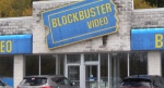 A vacant 'Blockbuster' location in Owen Sound, Ont. is seen Thursday, Oct. 22, 2020. (Scott Miller / CTV News)