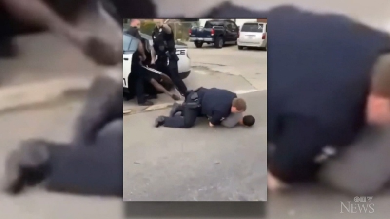 An Ohio mother is seeking legal action after video show an incident where she says her son was unfairly manhandled by police.