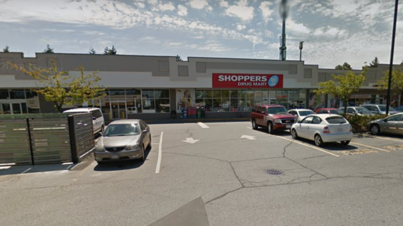 Shoppers Drug Mart on 96 Avenue in Surrey. (Google Maps)