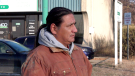Leon Weeseekase made the trip to Saskatoon to help bring his brother's body home. (Nicole Di Donato/CTV News)