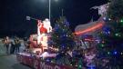 The Barrhaven Santa Claus parade.