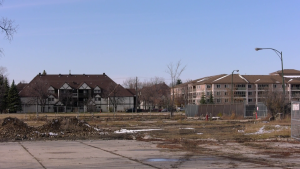 The former Kapyong Barracks site is pictured on October 22, 2020. (CTV News Photo Jeff Keele)