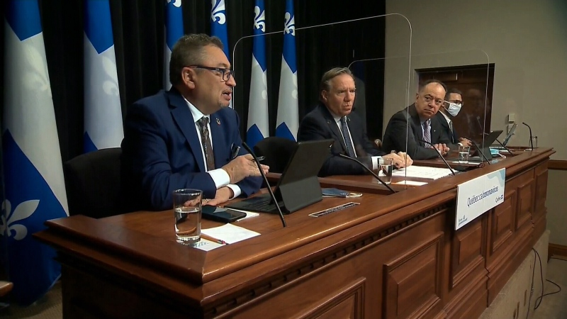 Quebec press conference