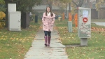 28-year-old Lauren Carruthers is alive after bystanders performed CPR and shocked her heart when she collapsed in cardiac arrest. (Chris Black, CTV Ottawa/October 22, 2020)