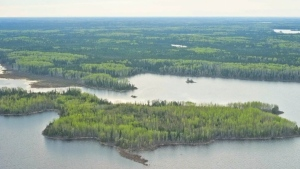 The chief and council of a First Nation in a remote part of northwestern Ontario say they won't be sending evacuees home until the community has access to running water 24/7. (File)