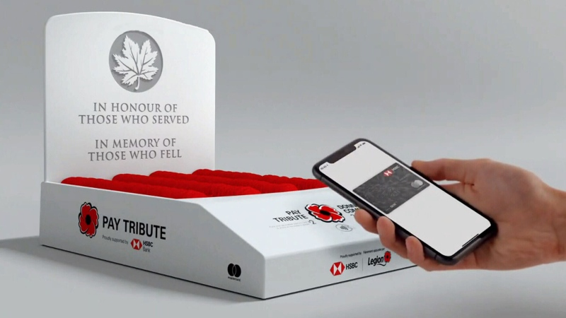 Legion donation box