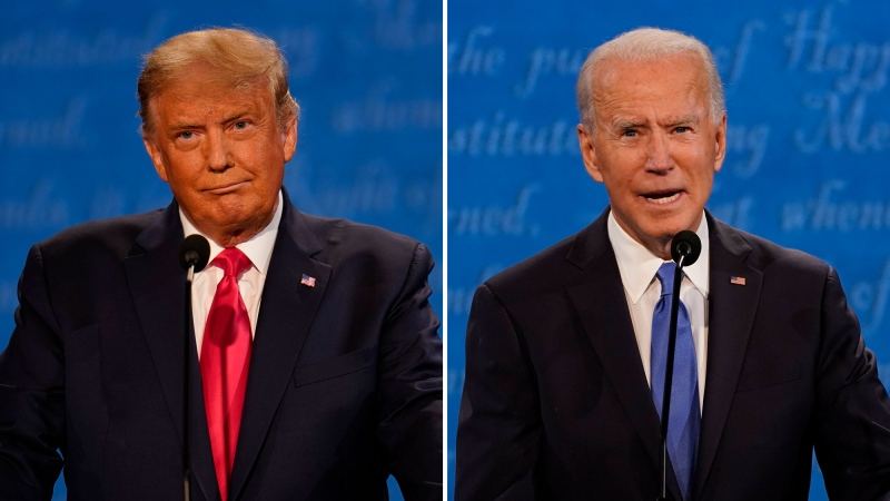 Trump, Biden face off in the final U.S. presidential debate