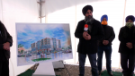 Representatives from the Dashmesh Culture Centre announce a new affordable housing development for northeast Calgary Thursday
