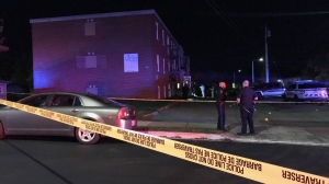 Police are investigating the death of a 25-year-old male on Dartmouth's Primrose St. as a homicide.