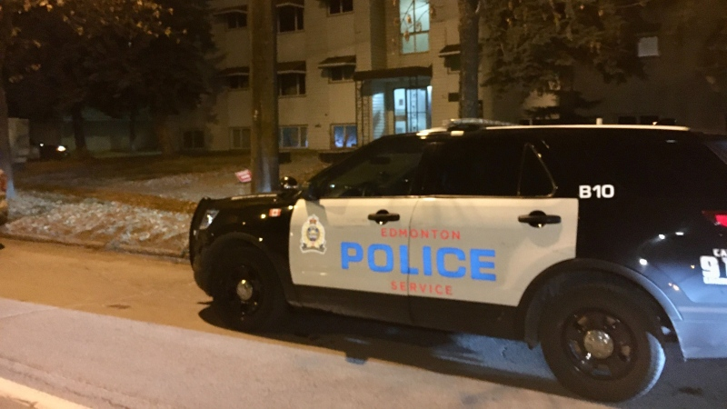 Police responded to an incident at the Drummond apartment building on Oct. 23, 2020.