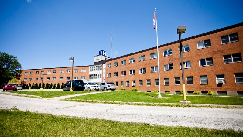 Chatham-Kent Health Alliance site in Wallaceburg, Ont. (Courtesy CKHA / Twitter)