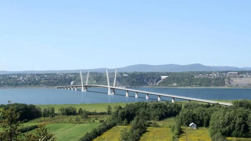 Ile d'Orleans Bridge (image: Transport Quebec)