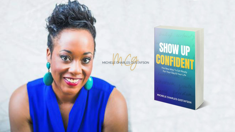 Show up confident book, author