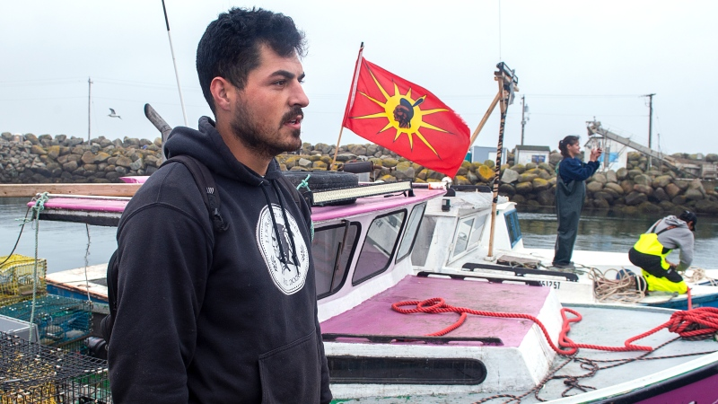 Mi'kmaw fisherman Robert Syliboy says he dreams of peacefully trapping lobster off the shores of southwestern Nova Scotia