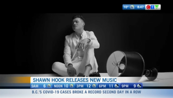 sahwn hook, music