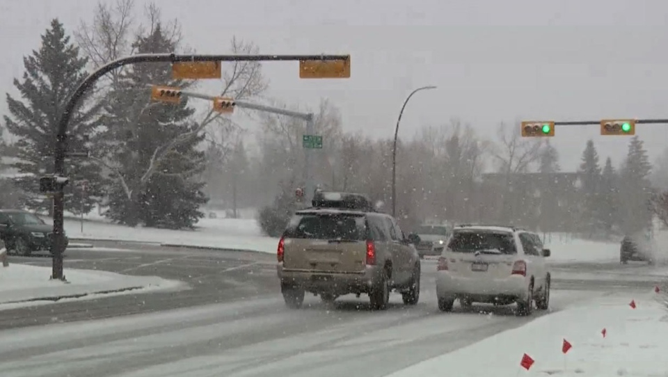 Priority roads like Deerfoot, Glenmore and Crowchild Trails will be plowed before secondary residential roads, so people should pay extra caution in those areas.