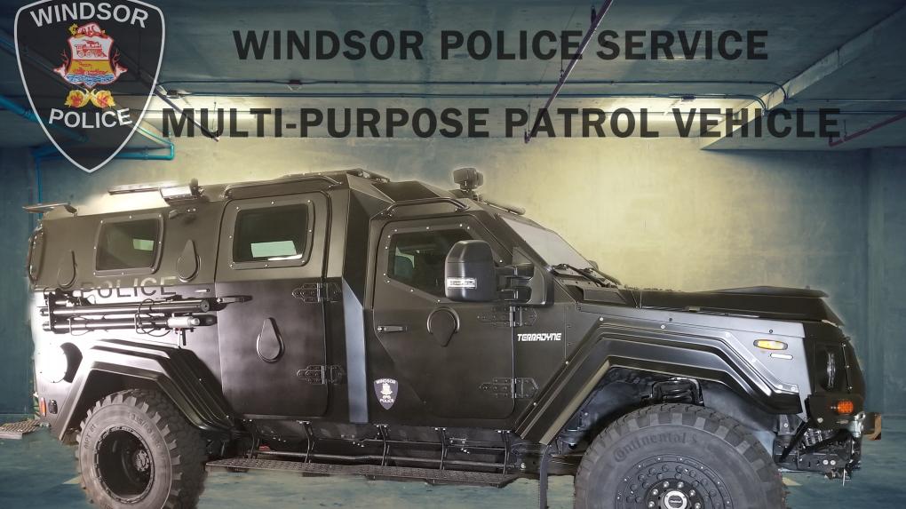 Windsor police mpv