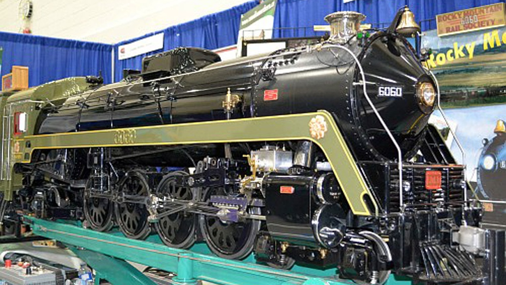 calgary, supertrain, model train show, genesis cen