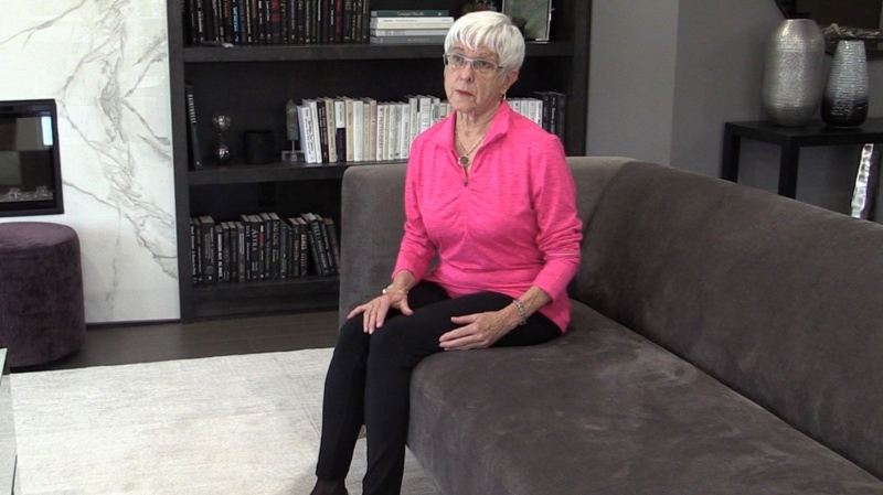 Barbara Moscovich had double lumpectomy after mammograms' alone did not show the tumors due to dense breast tissue (Celine Zadorsky / CTV News)