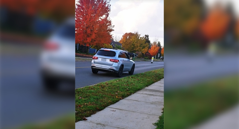 A suspicious vehicle was reported in Komoka, Ont. on Friday, Oct. 23, 2020.