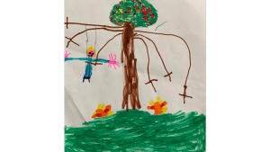 Riley Aubut-Rheaume, 5 years old, SK, Stonecrest Elementary school, Woodlawn