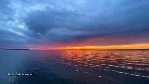 Sun shines even through the clouds. (Debbie Menard/CTV Viewer)