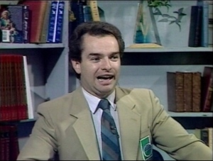 Bob Maloney is pictured here during his time working at CTV News. (CTV News Archives)