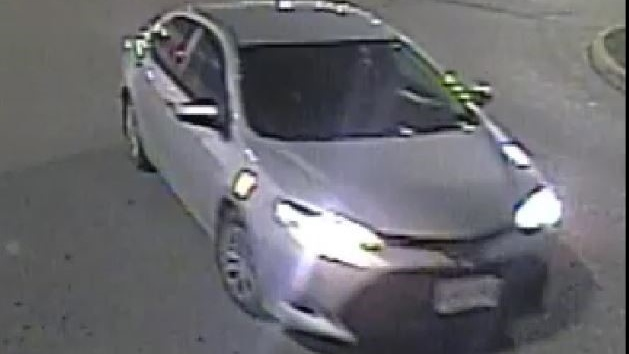 Police are looking for information about this vehicle in relation to three Walmart fires (Supplied: Waterloo Regional Police Service)