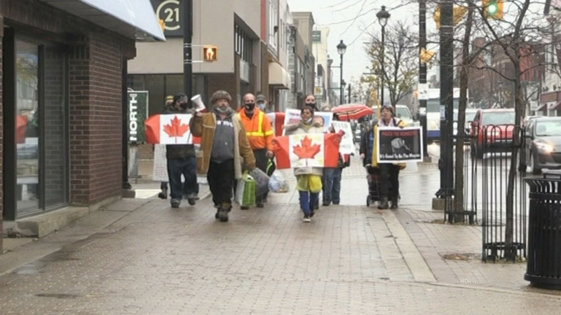 North Bay protest calls for help for the homeless