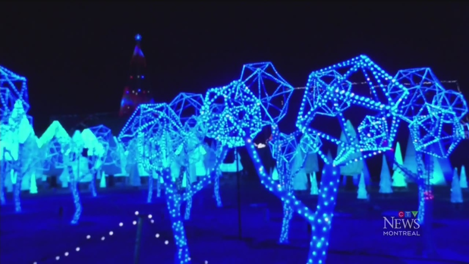 Laval's drive-thru labyrinth of light