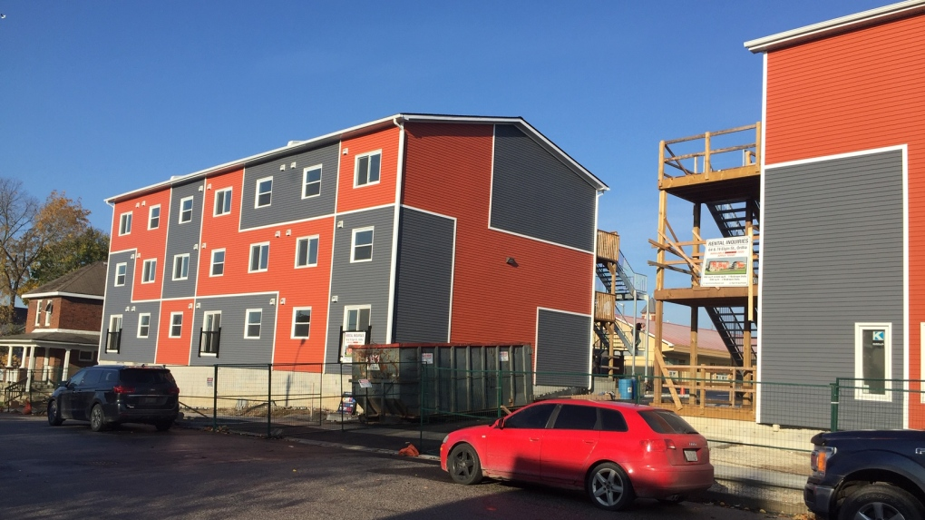 Orillia affordable container housing