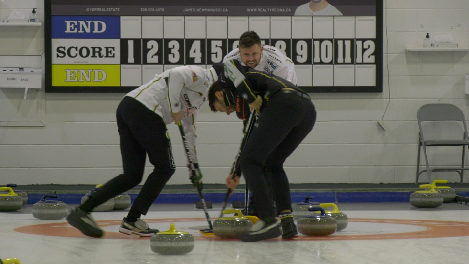 The Saskatchewan Men's Curling Tour was cancelled at the last minute due to COVID-19 guidelines.